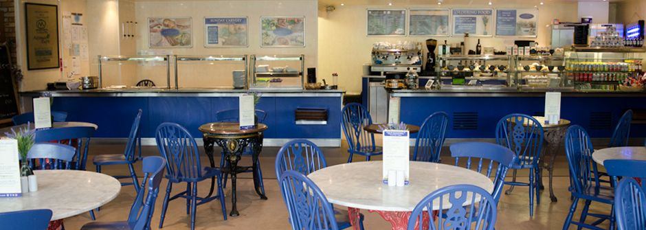 Coffee shop, Hemswell Antiques Centres
