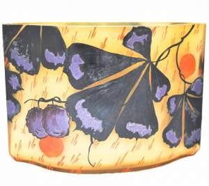 Le Jeune Nancy 1930s Glass Vase
