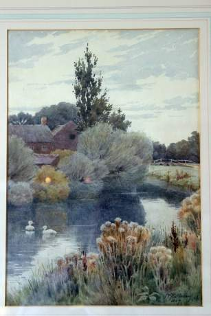 Landscape Painting By John C Halfpenny image-2