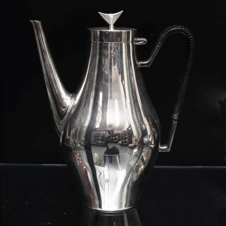 Danish Silver Plated Teaset image-2