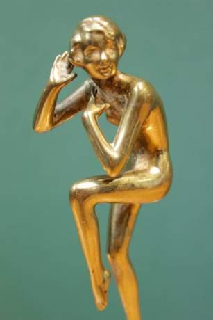 Josef Lorenzl Signed Bronze Figure image-2