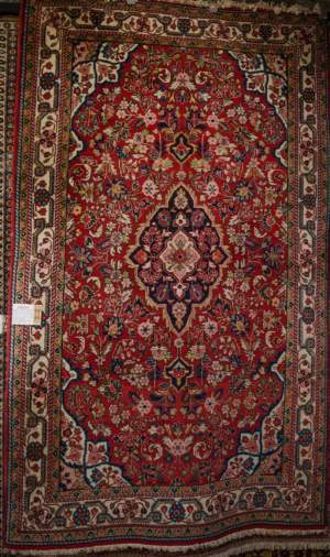 Superb Old Hand Knotted Persian Rug