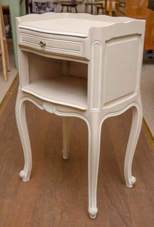 Pair of Painted Bedside Tables image-2
