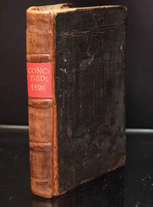 Council of Trent Book printed by Planting Antwerp 1596