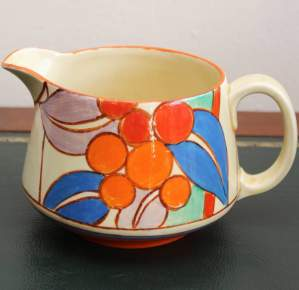 Clarice Cliff Berries Jug