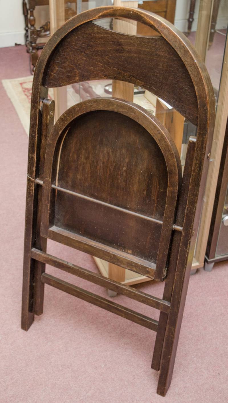 Set of a four thonet folding chairs furniture etc for Furniture etc