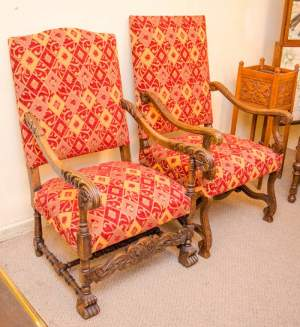 Two 19th Century French Armchairs