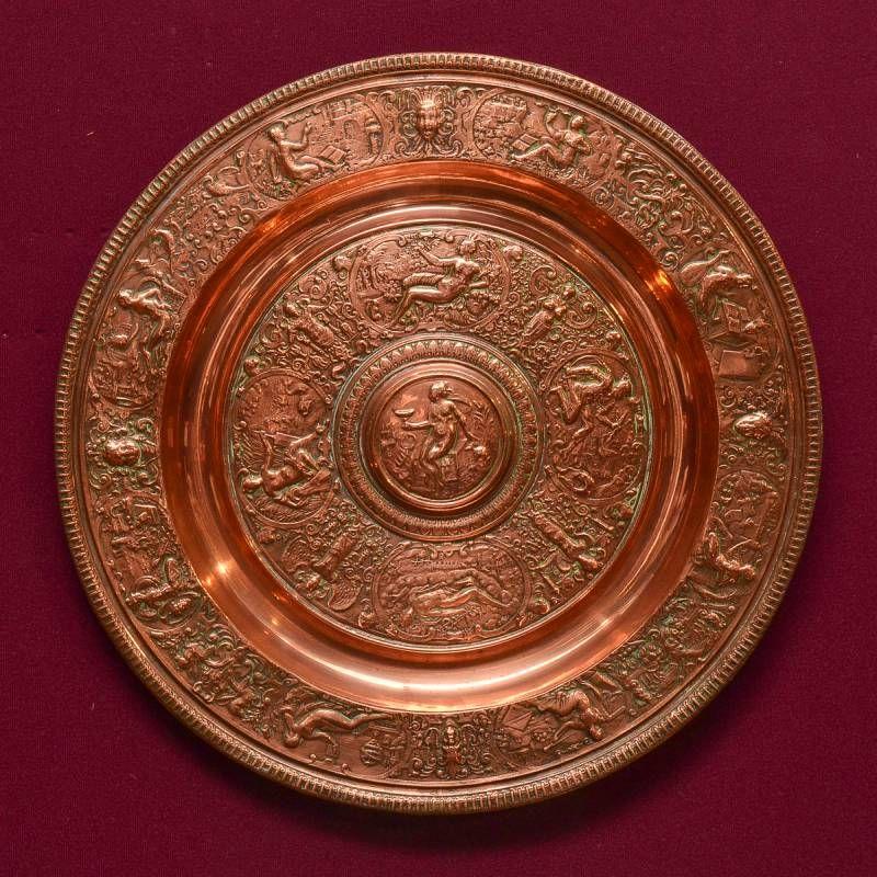 19th Century Copper Plate & 19th Century Copper Plate - Decorative Antiques - Hemswell Antique ...