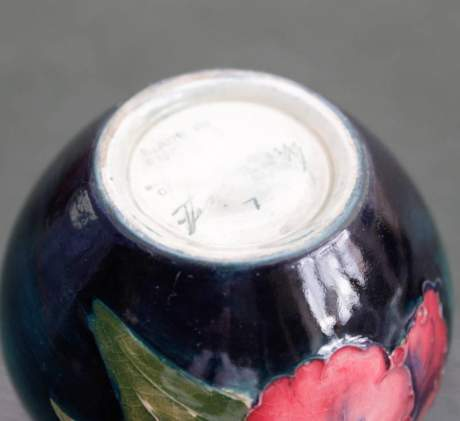 Moorcroft Miniature Orchid Vase image-3