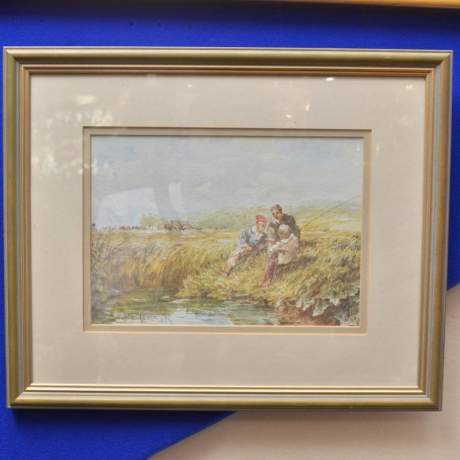 The Little Hayfield by David Cox image-1