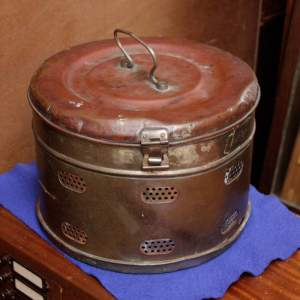 Vintage Copper and Tin Autoclave Box