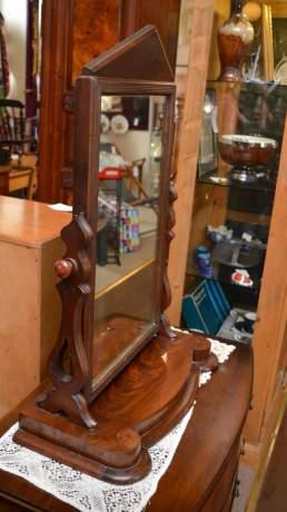 Victorian Walnut Dressing Table Mirror image-2