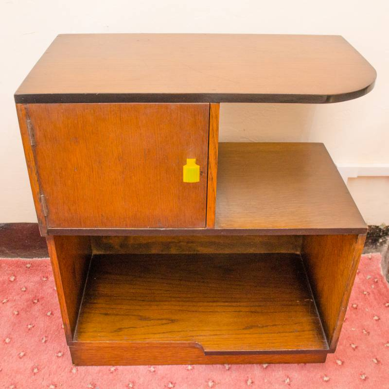 Art deco oak side table furniture etc hemswell antique for Furniture etc