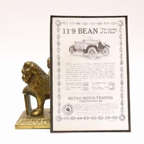 Bean 1920 Rare Car Mascot image-4