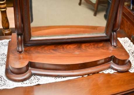 Victorian Walnut Dressing Table Mirror image-3