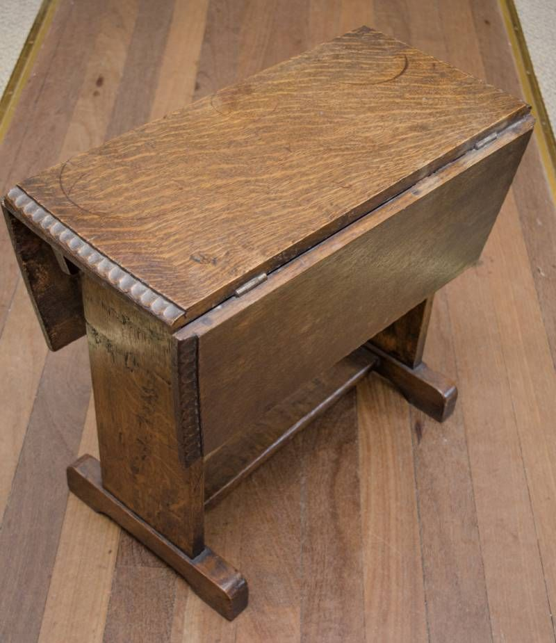 Arts and crafts small oak table furniture etc hemswell for Furniture etc