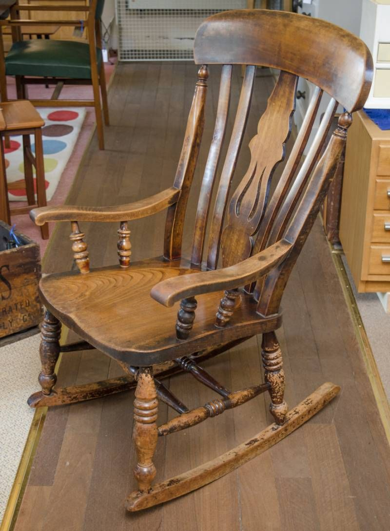 Late 19th Century Windsor Rocking Chair Antique Chairs Hemswell Antique Centres