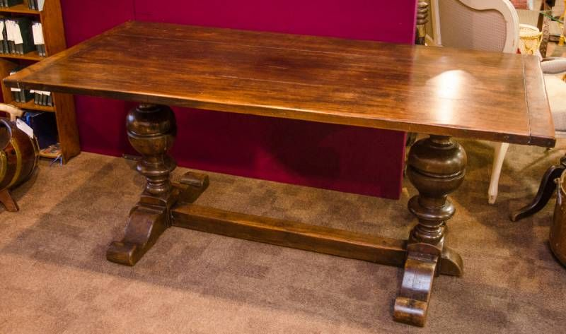 Three Plank Topped Refectory Table Antique Dining Tables  : thumb37798Productzoomed from www.hemswell-antiques.com size 800 x 473 jpeg 57kB