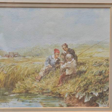 The Little Hayfield by David Cox image-2