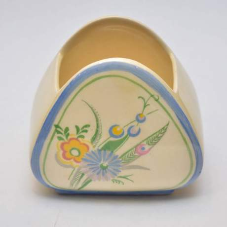 Clarice Cliff Trieste Shape Sugar Bowl image-1