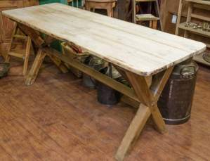 Antique Pine Tavern Table