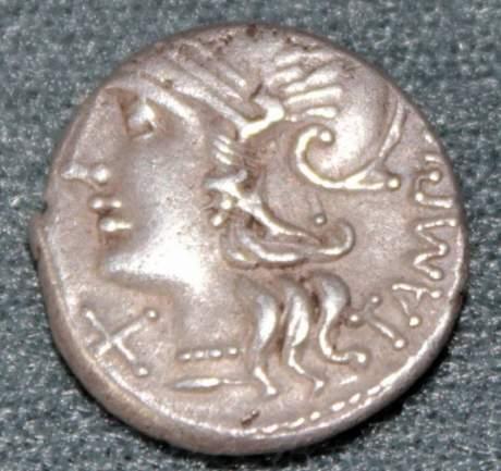 Roman Republic Silver Denarius image-2