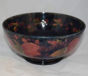 Early William Moorcroft Pomegranate Bowl