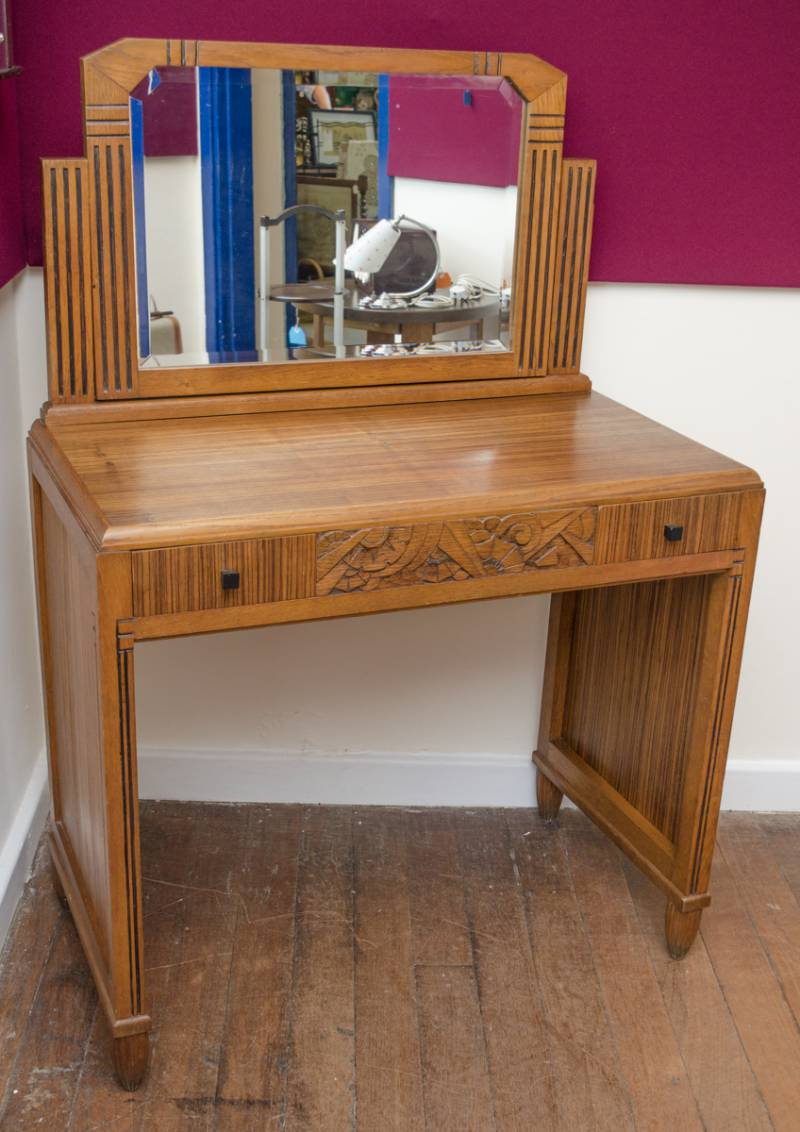 1930s French Art Deco Dressing Table Furniture Etc