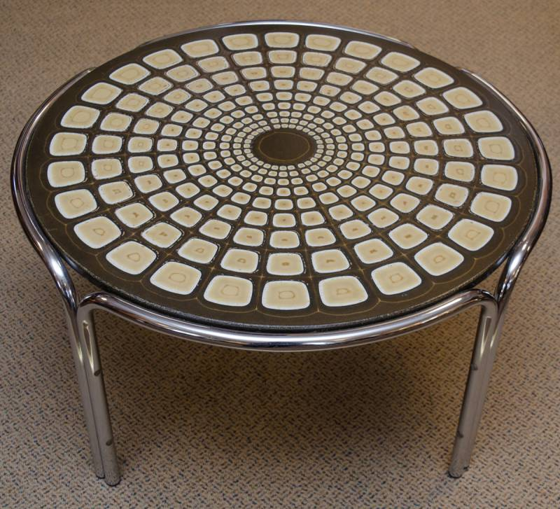 Round retro coffee table furniture etc hemswell for Furniture etc