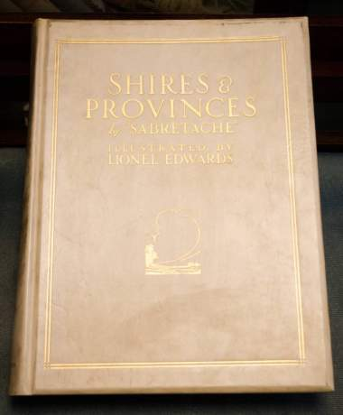 Shires and Provinces Signed Limited Edition Book image-1