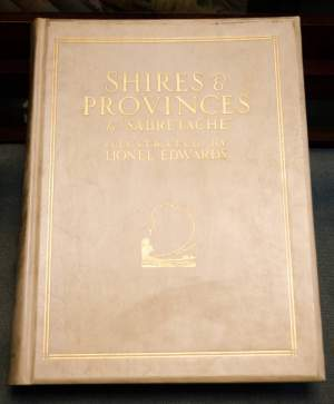 Shires and Provinces Signed Limited Edition Book