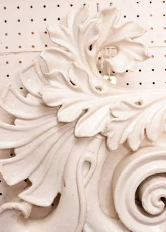 Pair of Carved Wooden Embellishments image-4