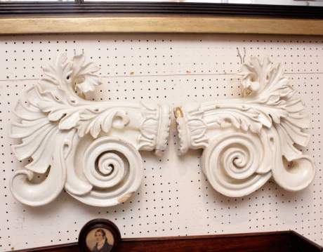 Pair of Carved Wooden Embellishments image-2