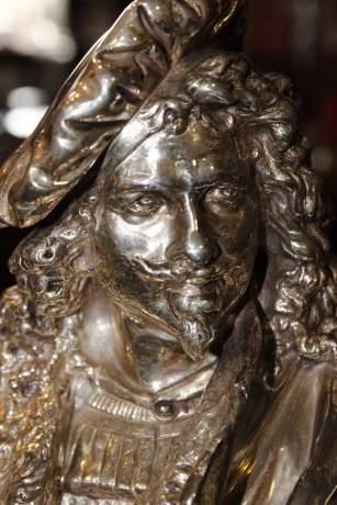 Albert Carrier-Belleuse Bronze Bust of Rembrandt image-4
