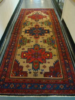 Large Hand Knotted Persian Rug