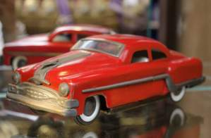 Tin Plate Pontiac Minister Vintage Car