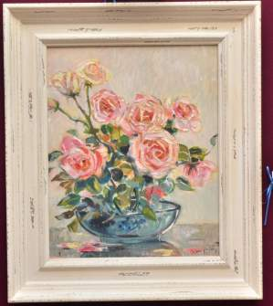 Bowl of Roses by Joseph Alfred Terry