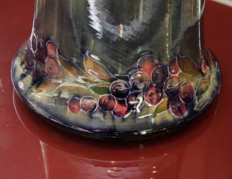 Large Early Moorcroft Pomegranate Vase image-3