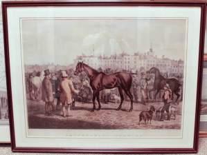 1855 Alken Engraving of Smithfield Show