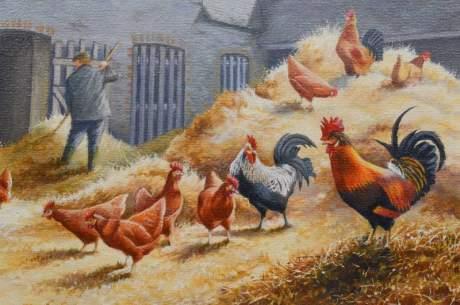 Farmyard Scene by John C Moore image-2