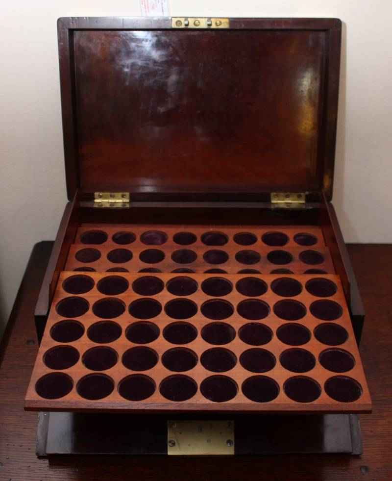 coin collectors chest tantalus barrels boxes. Black Bedroom Furniture Sets. Home Design Ideas