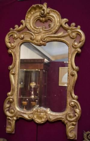 Decorative Gilt Wood Wall Mirror