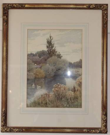Landscape Painting By John C Halfpenny image-1