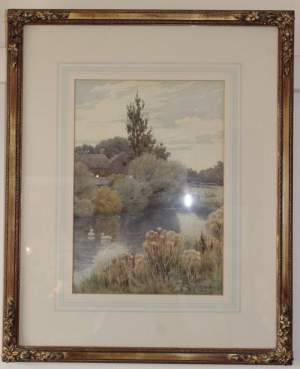 Landscape Painting By John C Halfpenny
