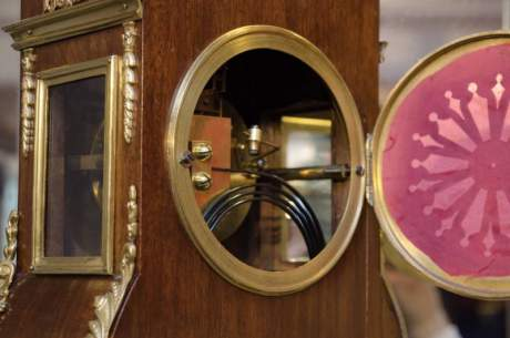 French Rosewood and Gilt Clock image-3
