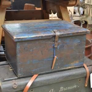 19th Century Swedish Strong Box
