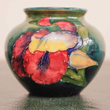 Moorcroft Miniature Orchid Vase image-2