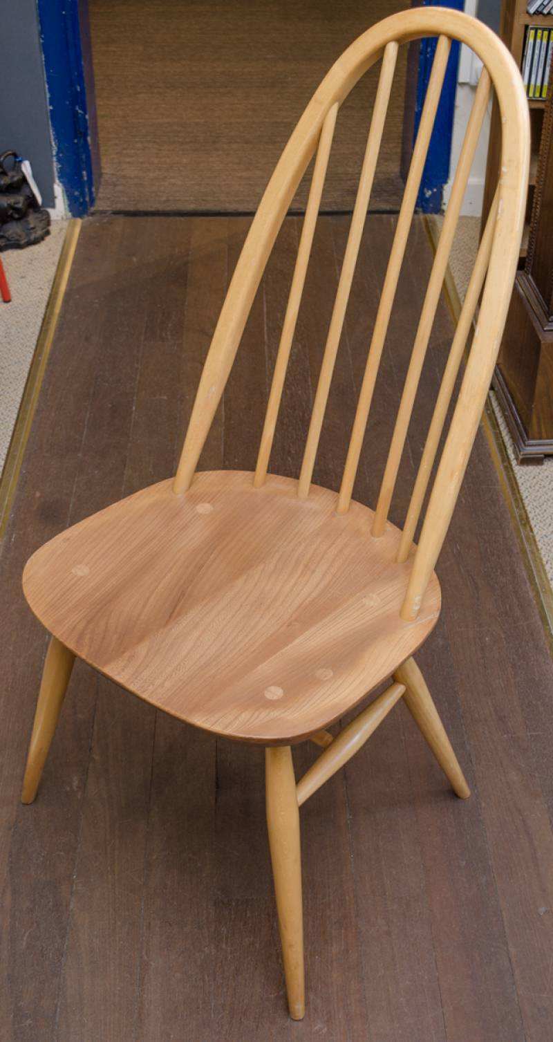 Ercol dining table and dining chairs furniture etc for Furniture etc