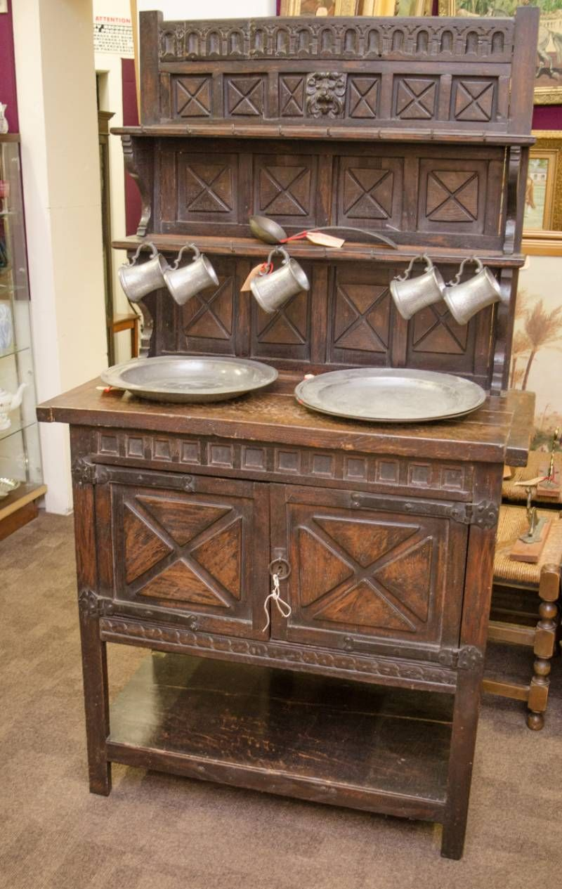 Rustic Carved Oak Dresser Antique Dressers Hemswell