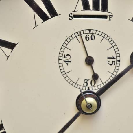 Chrome Cased Ships Clock image-4